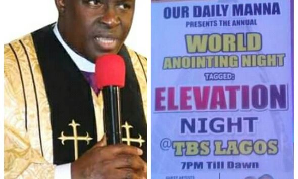 Our daily manna, bishop Chris E. Kwakpovwe