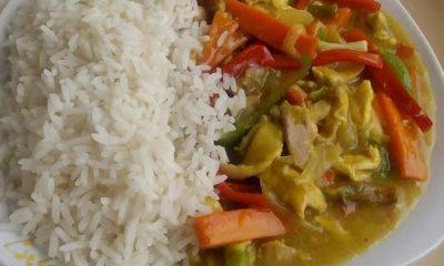 Nigerian chicken sauce