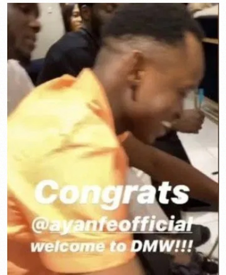 DMW Davido Ayanfe record label