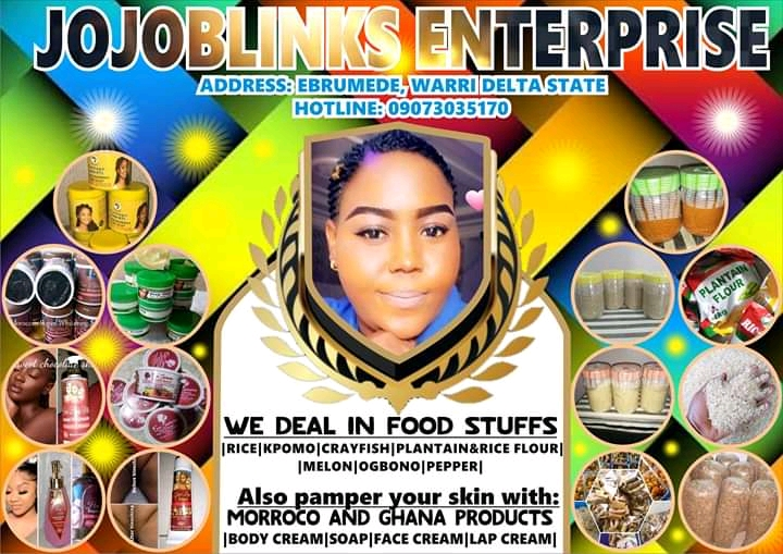 BUY FOODSTUFFS AND SKINCARE PRODUCTS HERE