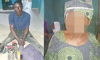70 year old woman raped by 25 year old boy