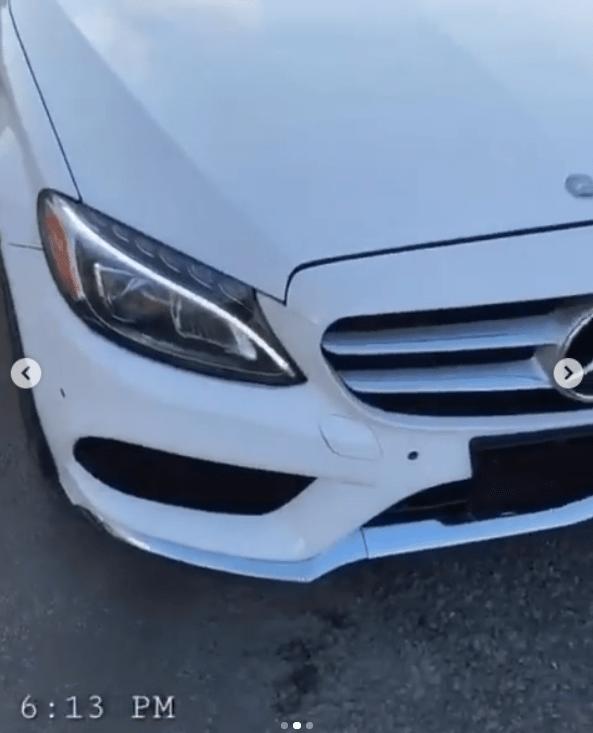 Frodd gets a brand new Benz car