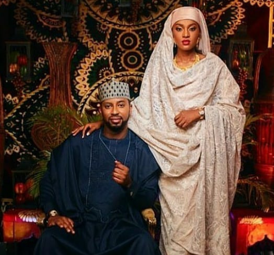 President Buhari's daughter's wedding