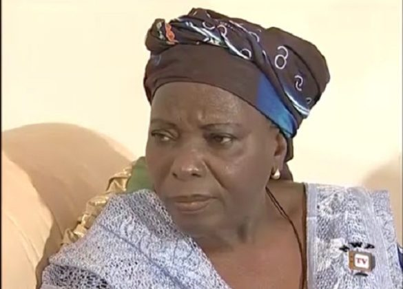 Actress Louis nwobodo