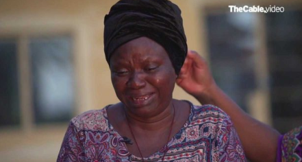 Wife of the man who was killed at #EndSars protest cried out