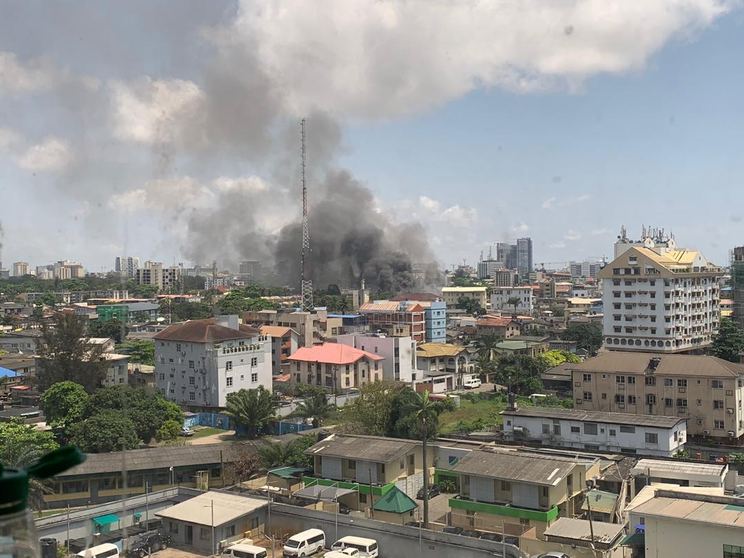 Fire Outbreak in Ikoyi Prison