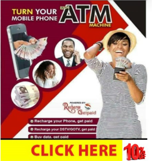 RECHARGE AND GET PAID