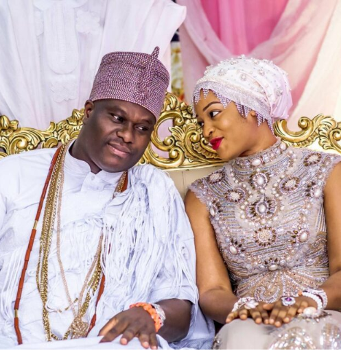 Ooni of Ife welcomes first son with olori