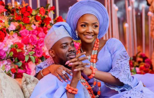 Simi and Adekunle Gold wedding anniversary
