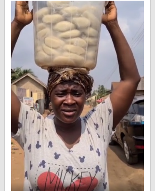 Mercy johnson hawking fufu