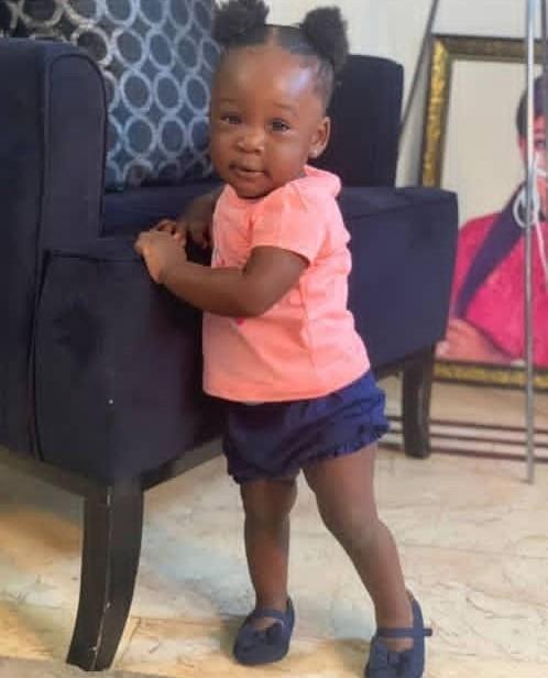 Mercy Johnson daughter